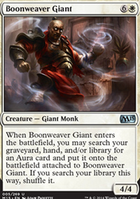 Boonweaver Giant - Magic 2015