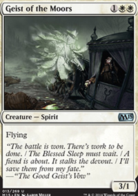 Geist of the Moors - Magic 2015