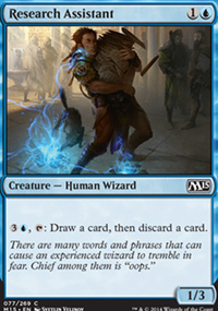 Research Assistant - Magic 2015