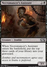 Necromancer's Assistant - Magic 2015