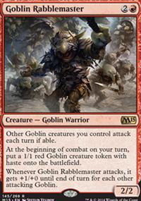 Goblin Rabblemaster - Magic 2015
