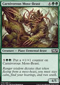 Carnivorous Moss-Beast - Magic 2015