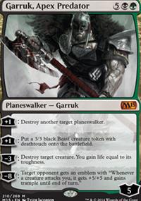 Garruk, Apex Predator - Magic 2015