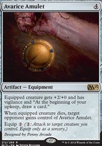 Avarice Amulet - Magic 2015