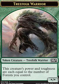 Treefolk Warrior - Magic 2015
