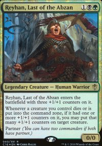 Reyhan, Last of the Abzan - Commander 2016
