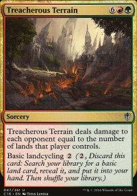 Treacherous Terrain - Commander 2016