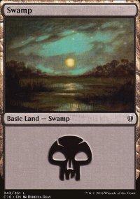 Swamp 1 - Commander 2016
