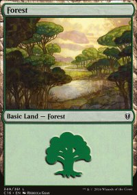 Forest 1 - Commander 2016