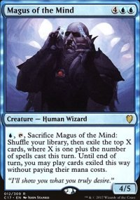 Magus of the Mind - Commander 2017
