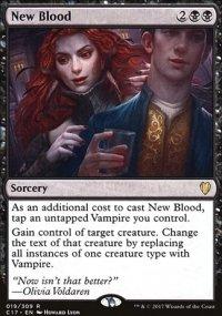 New Blood - Commander 2017