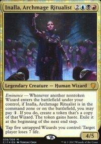 Inalla, Archmage Ritualist - Commander 2017