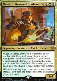 Nazahn, Revered Bladesmith - Commander 2017