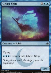 Ghost Ship - Masters 25