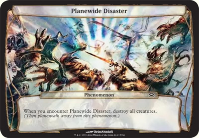 Planewide Disaster - Planechase 2012