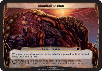 Bloodhill Bastion - Planechase 2012