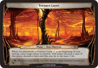 Furnace Layer - Planechase 2012