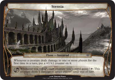 Stensia - Planechase 2012