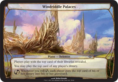 Windriddle Palaces - Planechase 2012