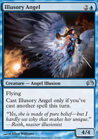 Illusory Angel - Planechase 2012 decks