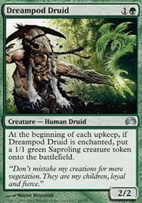 Dreampod Druid - Planechase 2012 decks