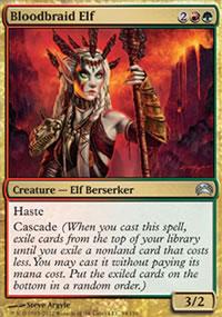 Bloodbraid Elf - Planechase 2012 decks