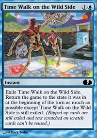 Time Walk on the Wild Side - Unglued 2 : The Obligatory Sequel
