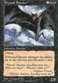 Abyssal Specter - Fifth Edition