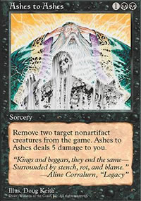 Ashes to Ashes - Fifth Edition