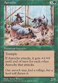 Aurochs - Fifth Edition