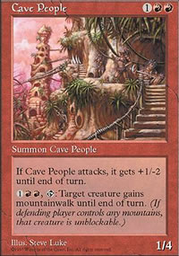 Cave People - Fifth Edition