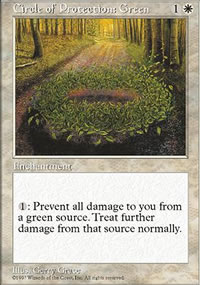 Circle of Protection: Green - Fifth Edition