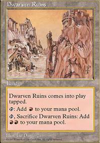 Dwarven Ruins - Fifth Edition