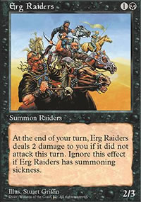 Erg Raiders - Fifth Edition