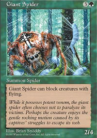 Giant Spider - Fifth Edition