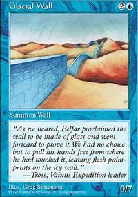 Glacial Wall - Fifth Edition