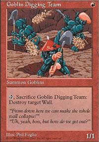 Goblin Digging Team - Fifth Edition