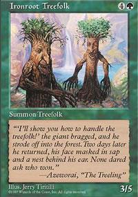 Ironroot Treefolk - Fifth Edition
