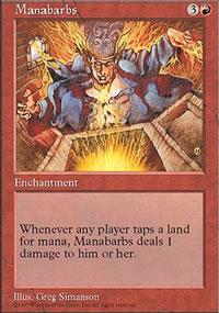 Manabarbs - Fifth Edition