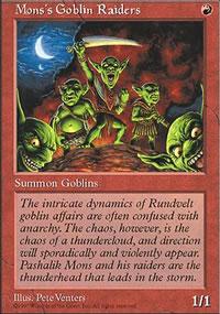 Mons's Goblin Raiders - Fifth Edition
