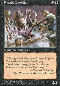 Scathe Zombies - Fifth Edition