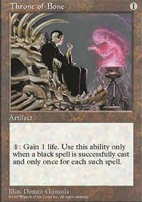 Throne of Bone - Fifth Edition