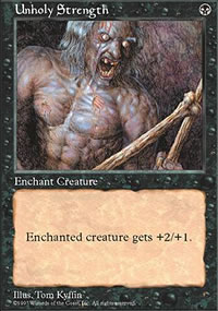 Unholy Strength - Fifth Edition