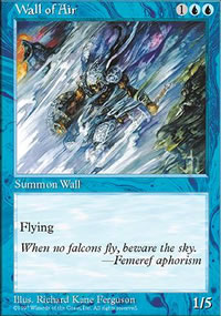 Wall of Air - Fifth Edition
