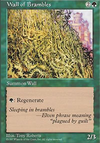 Wall of Brambles - Fifth Edition