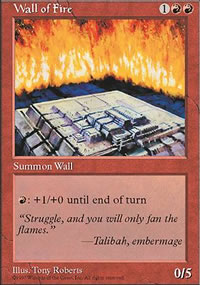 Wall of Fire - Fifth Edition