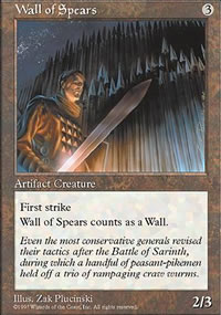 Wall of Spears - Fifth Edition