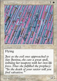 Wall of Swords - Fifth Edition