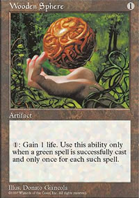 Wooden Sphere - Fifth Edition