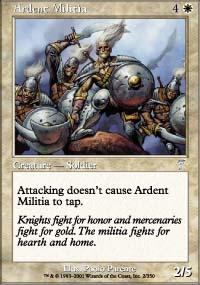 Ardent Militia - 7th Edition